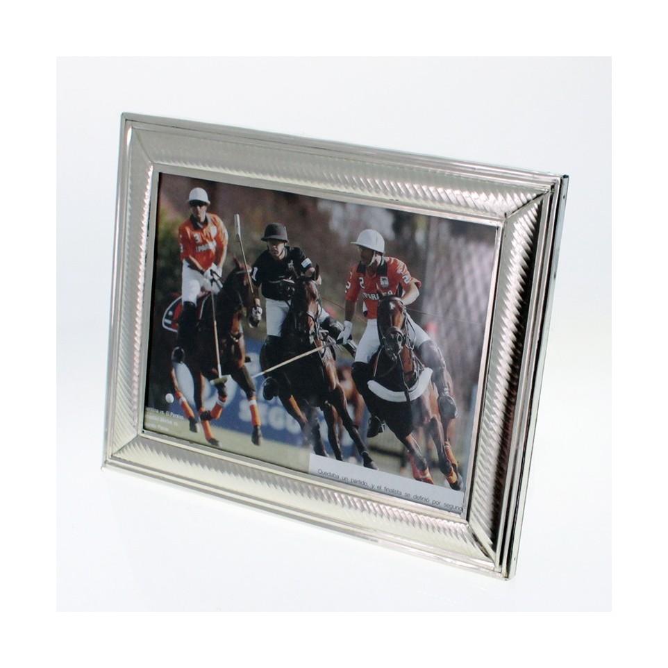 Portarretratos de Alpaca - Foto 15cm x 21cm |El Boyero