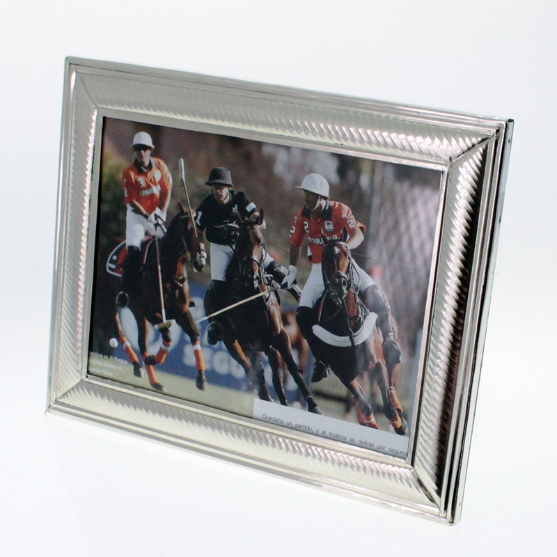 9416c64b8bb Handmade nickel silver large photo frame