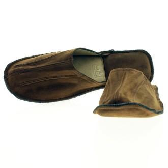 Goat suede slippers |El Boyero