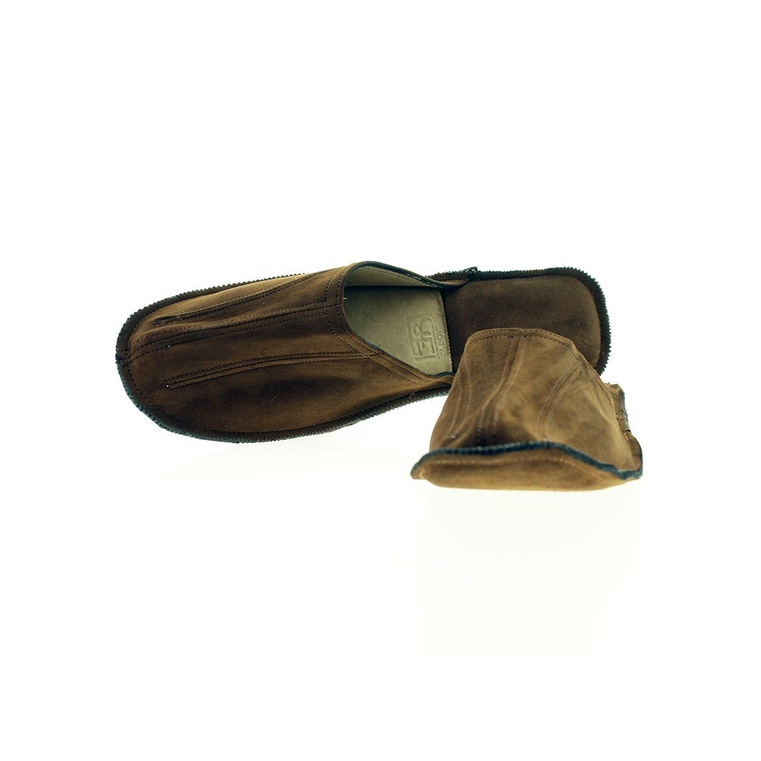 Goat Suede Slippers