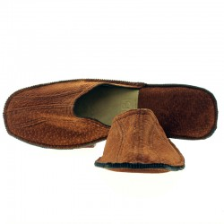 Capybara leather slippers |El Boyero