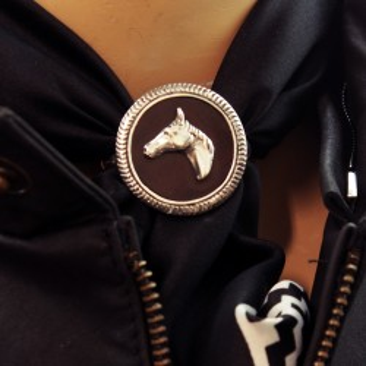 Pasapañuelos plata - Diseño caballo