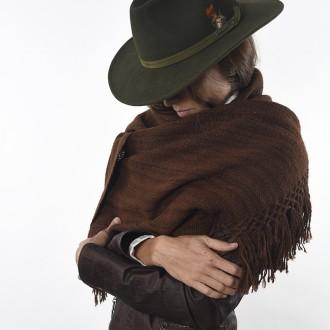 Loom woven llama scarf |El Boyero