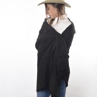 Llama knitted shawl |El Boyero