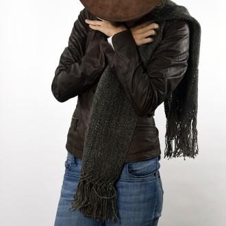 Bufanda tejida con lana de llama |El Boyero