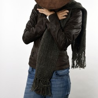Llama knitted scarf |El Boyero