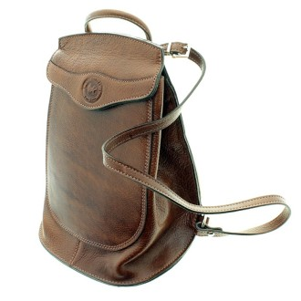 Soft cow leather small backpack |El Boyero