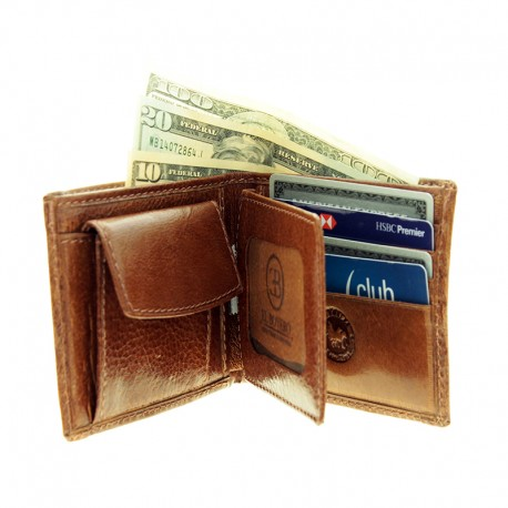 Men capybara wallet with coin purse