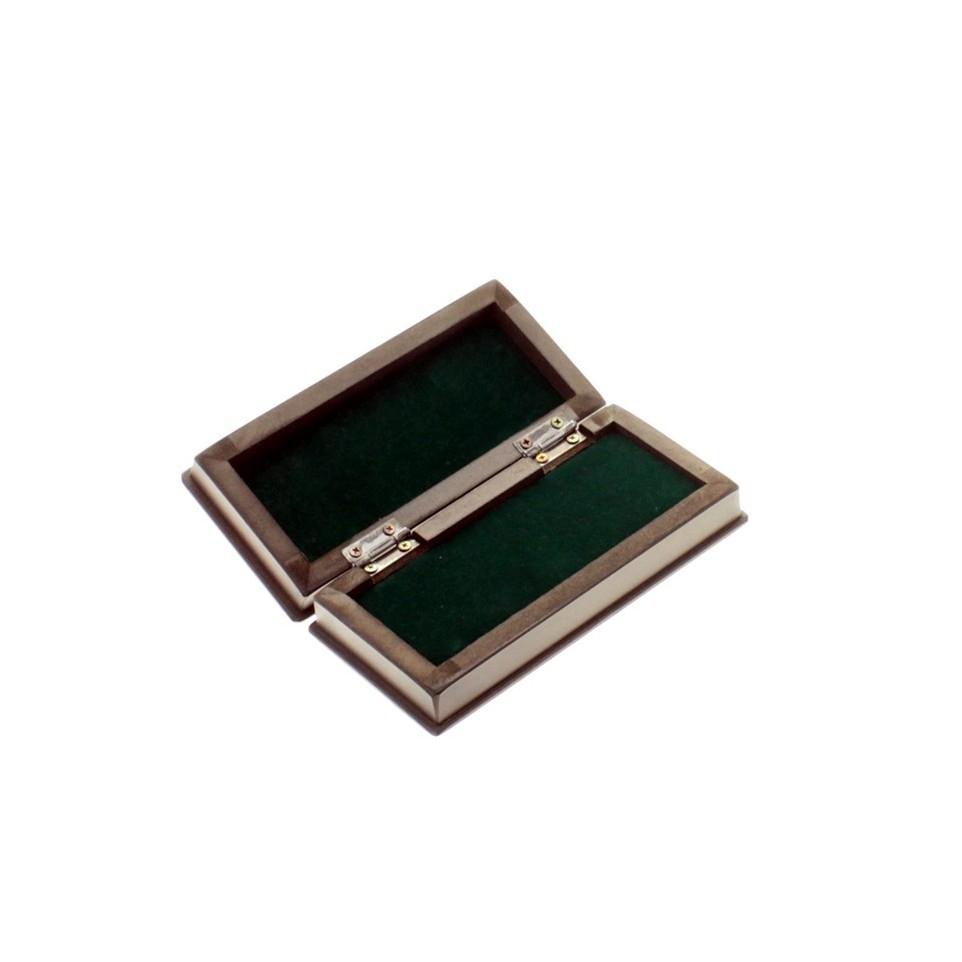Wooden belt buckle or keychain box |El Boyero