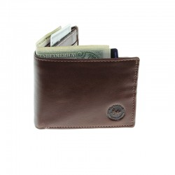 Men's leather wallet with multiple card-holders |El Boyero