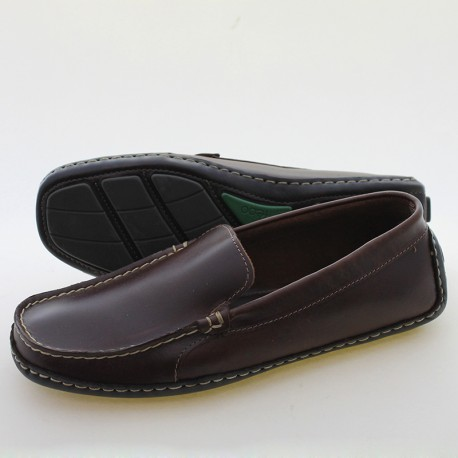 Cow suede men's loafers