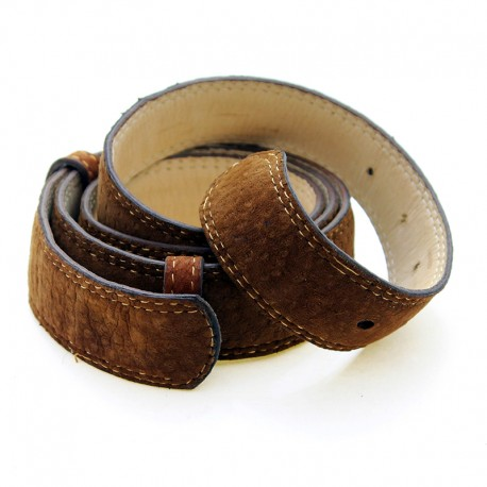 Cinturón cuero de carpincho