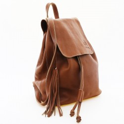 Leather backpack |El Boyero