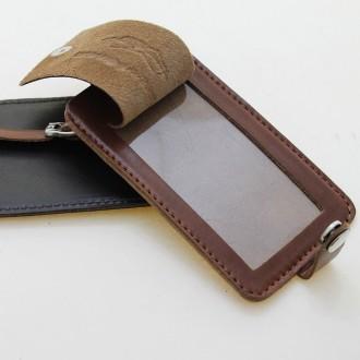 Identificador de equipaje de cuero |El Boyero