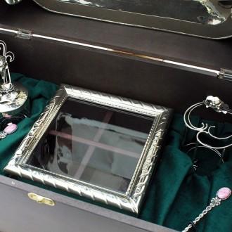 Tea box, tray and accesories |El Boyero