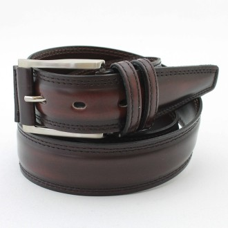 Polished leather belt |El Boyero
