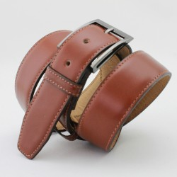 Classic men's leather belt |El Boyero