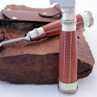 Wooden handle knife and fork set |El Boyero