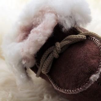 Mocasín piel de oveja para bebes y niños |El Boyero
