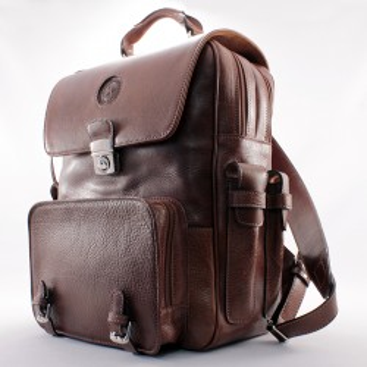 Big leather backpack – exclusive design |El Boyero