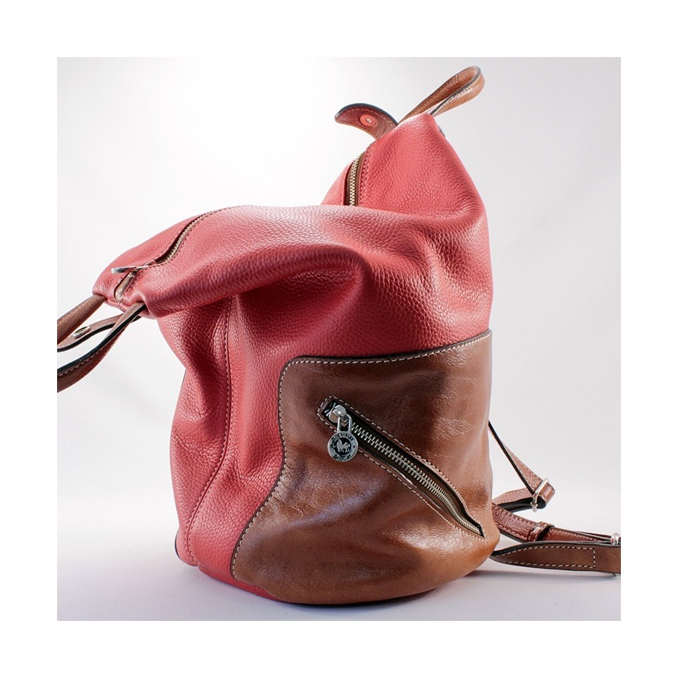 Original leather backpack |El Boyero