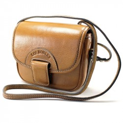 Soft cow leather crossbody purse with fastener |El Boyero