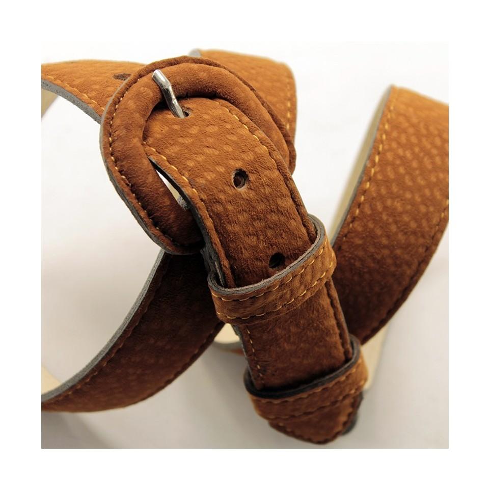 Cinturón dama hebilla forrada|El Boyero
