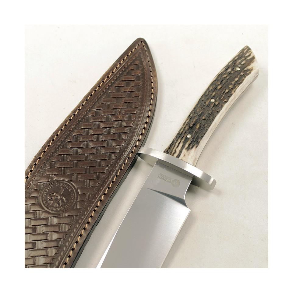 Cuchillo toro acero y cuero| El Boyero